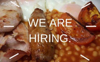 Join our Café team! Cook Vacancy